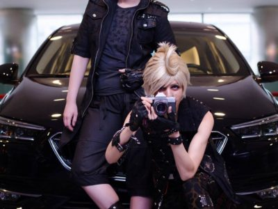 With Lettelle as Noctis. Photography by Chinasaur (2017).