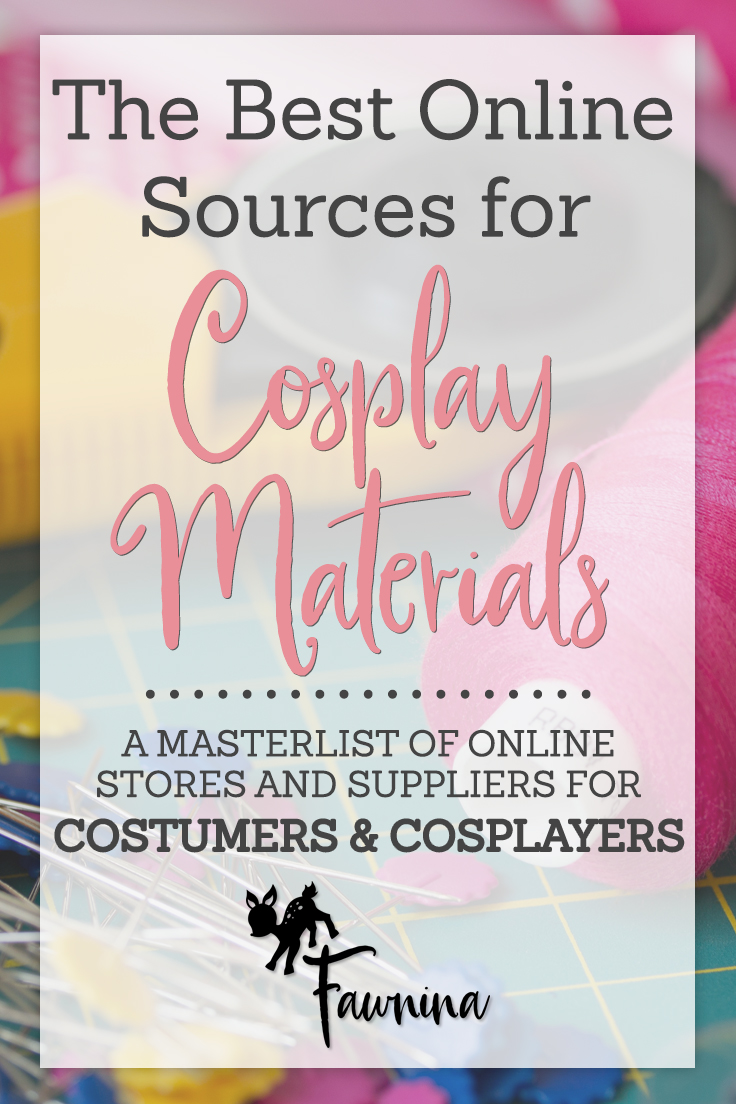 59f3a349d2f Cosplay Supply Masterlist   Fawnina Costuming