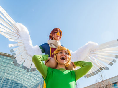 With Rinachur as Link. Photography by Kyle Mistry (2013).